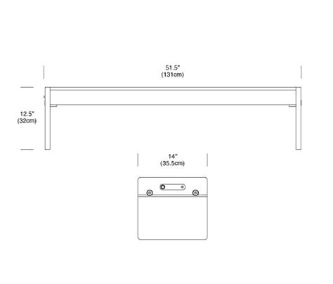 pablo light bench light bench sitzb 228 nke von pablo architonic