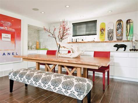decoracion salon comedor ideas  ahorrar espacio