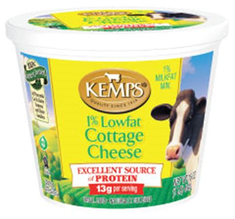 1 cup lowfat cottage cheese 1 low cottage cheese 16 oz kemps