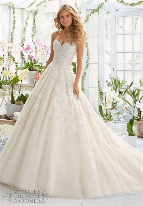 wedding dresses and wedding gowns by morilee featuring