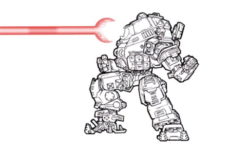Titanfall 2 Coloring Pages by Titanfall Titan Fan Sketch Coloring Page Sketch