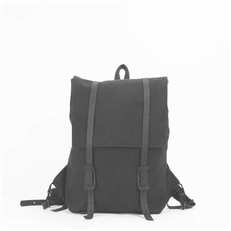 black canvas rucksack backpack the large ruck black canvas backpack stone cloth