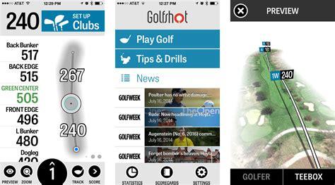 best golf app best golfing apps for iphone swingbot golfshot gps
