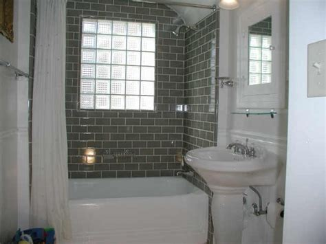 subway tile ideas bathroom subway tile for small bathroom remodeling gray color in
