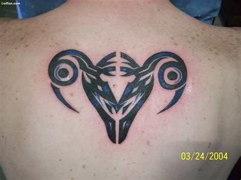 tribal back tattoos designs 65 awesome aries images best aries