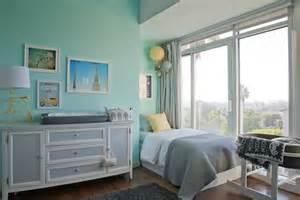 Emily Henderson Nursery ocean spray benjamin moore paint colors pinterest