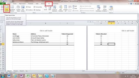 print layout view excel what is page layout view and how do i use it va pro