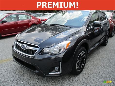 grey subaru crosstrek 2016 dark gray metallic subaru crosstrek 2 0i premium