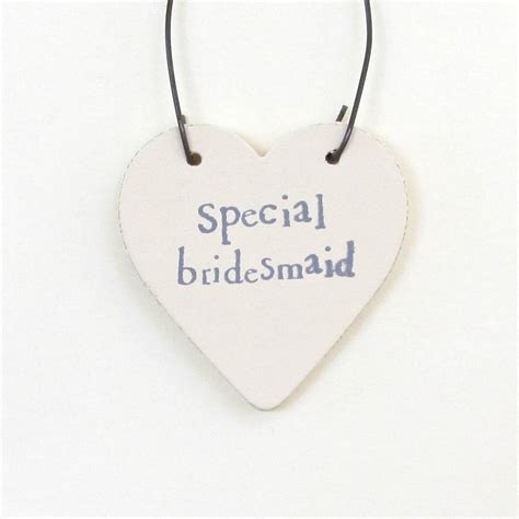Special Handmade Cards - special bridesmaid handmade card by chapel cards