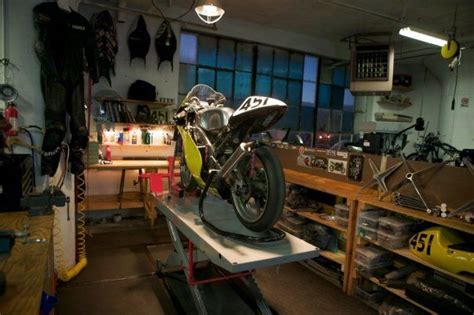 garage workshop perfect for motorcycle storage and still perfect sized small motorcycle garage like the size like
