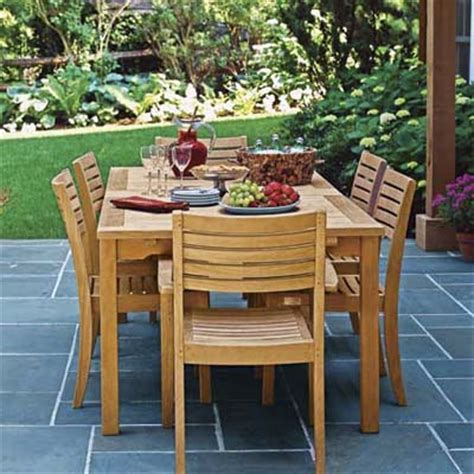wooden patio dining set wood patio furniture sets at the galleria