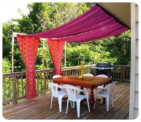 DIY outdoor patio canopy   Ao ar livre   Pinterest