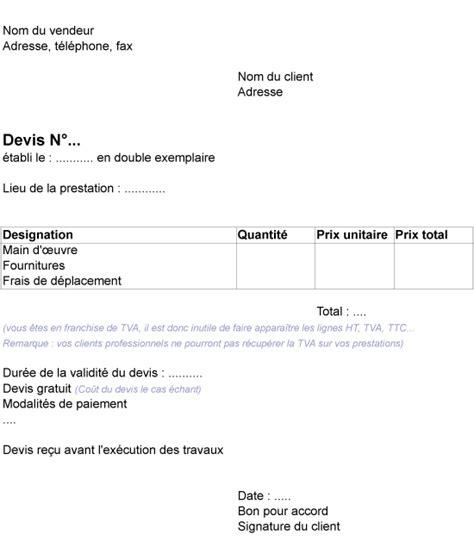 Exemple De Lettre Bon Pour Accord Exemples Devis Factures Kndstat Consulting