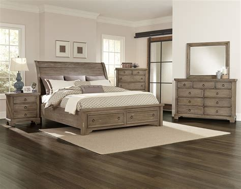 Knob Creek Rustic Storage Bedroom Set 814storageset Storehouse Bedroom Furniture
