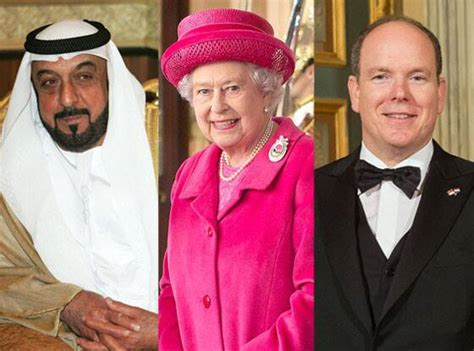 the of is worth how much find out how rich royal families around the world