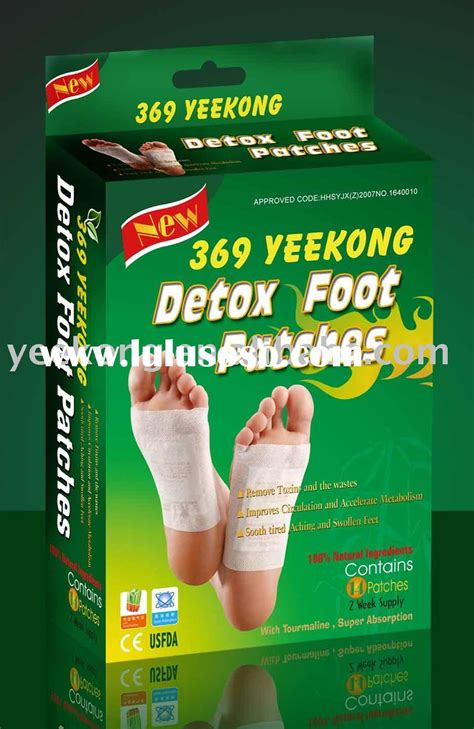 Can Detox Foot Pads Clean My System Of Marijuana by Foot Detox Patch With U S Fda Registration As