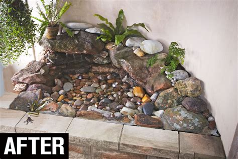 How To Build A Rock Garden Bed Turn A Garden Bed Into A Rock Pool Australian Handyman Magazine