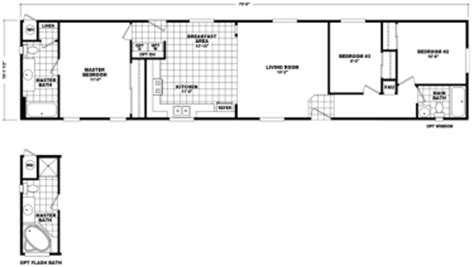 14x60 mobile home floor plans home plan