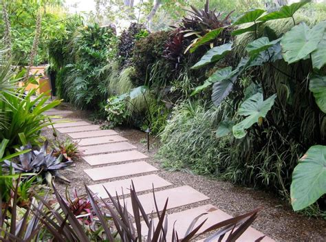 How To Create A Tropical Backyard by Creating A Tropical Garden Inspiration Nda