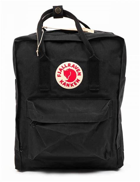 fjallraven kanken classic backpack black fjallraven
