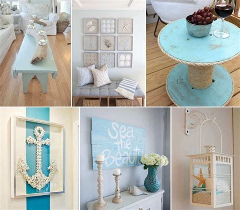 home decor craft projects 50 amazing diy nautical home decor projects