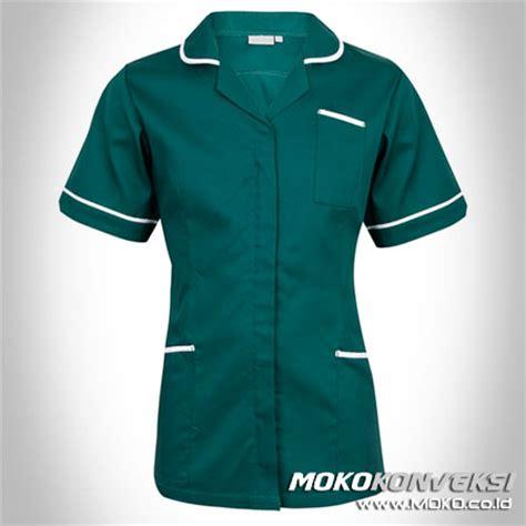 Kaos Wanita Murah Exo Green Hijau seragam perawat medis pakaian rumah sakit