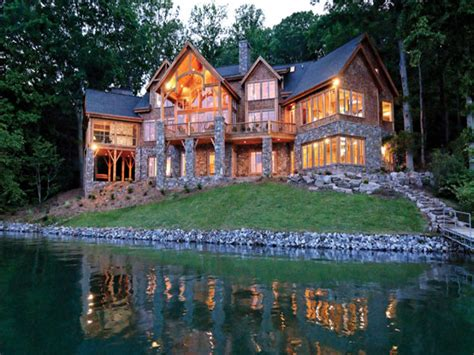 Lake Front House Plans by Luxury Lakefront House Plans Lakefront Luxury Homes