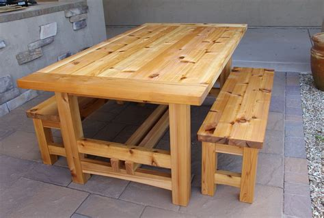 Wooden Patio Table Plans Wood Patio Table Plans Home Design Ideas