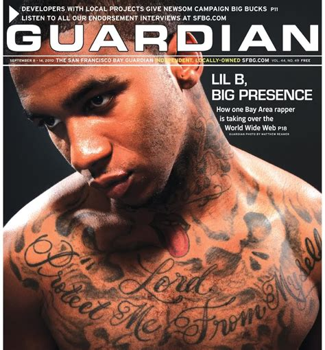 k b tattoo confessions of a glimpse at lil b based god tattoos