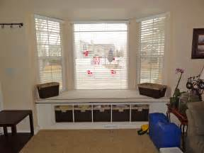 Foyer Window Blinds Plans Corner Bench Table Built In Bay Window Seat Build A
