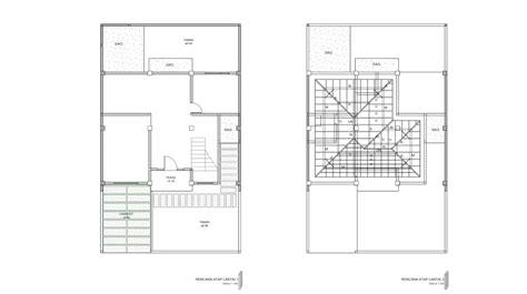 Sho Kuda Di Griya contoh gambar kerja lengkap rumah 2 lantai mewah di