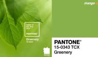 pantone color of the year 2017 announcement pantone ประกาศแล ว ให ส เข ยว greenery เป นส แห งป 2017