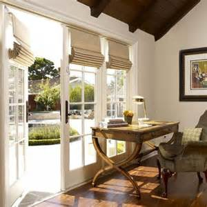 Hang french door roman shades installation in assortments