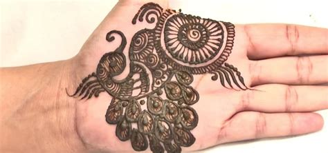 henna tattoo design peacock how to create an indian peacock mehndi design