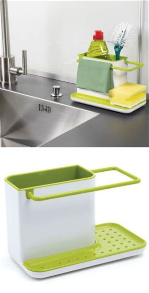kitchen sink organiser caddy sink organizer green