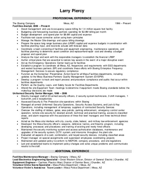 boeing resume resume ideas