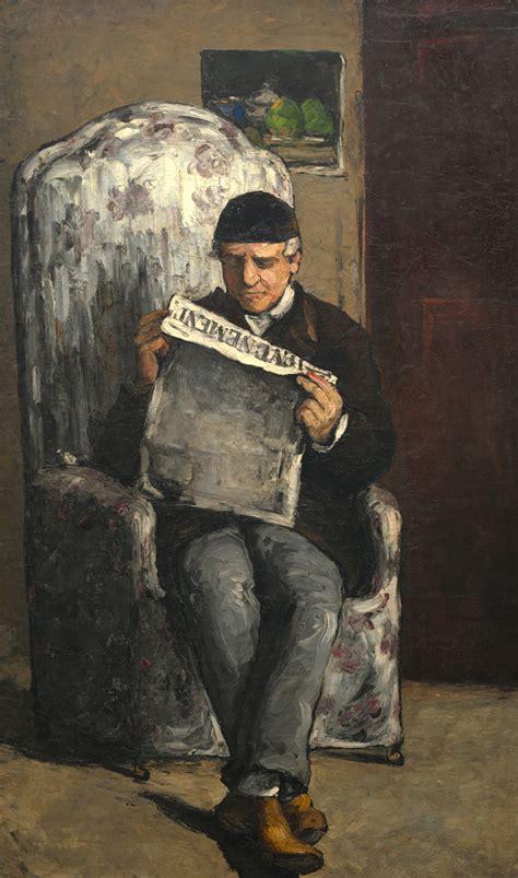 Reading L the artist s reading quot l 201 v 233 nement quot by paul cezanne