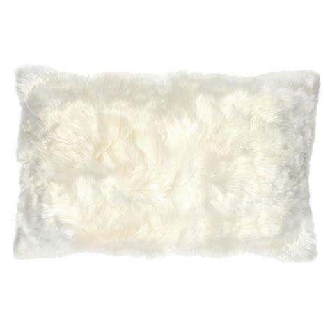 Alpaca Fur Pillows by Roberta Ivory Peruvian Alpaca Fur Pillow 12x20 Kathy