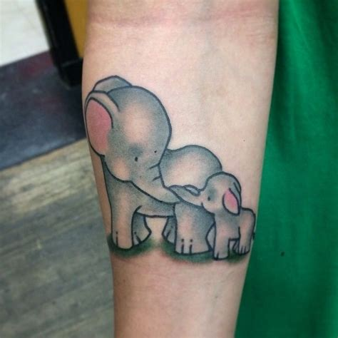 elephant mom and baby tattoo 214 best images on cats cat