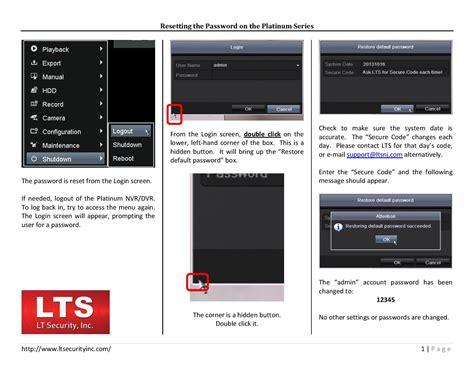 reset samsung dvr password platinum password reset