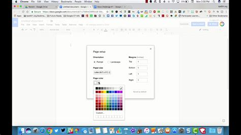 best how to change the page color in google docs artsybarksy