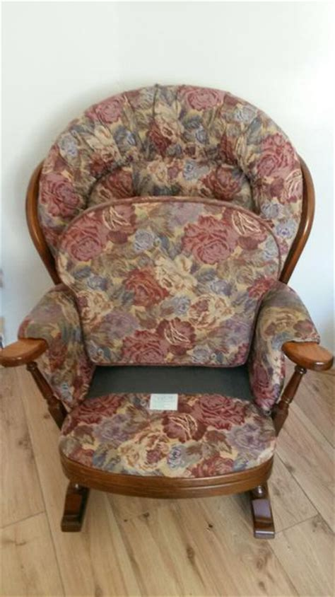 joynson holland wooden rocking chairs seat settee