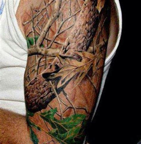camo tattoo sleeve the s 30 best tattoos