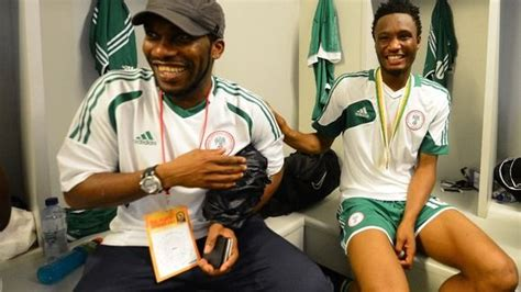 nations cup 2013 okocha and jon obi mikel nigeria football jj okocha so