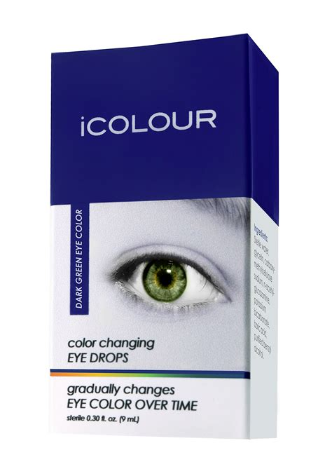 naturally changing eye color icolour color changing eye drops change