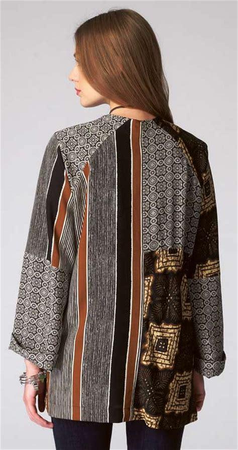 Patchwork Jacket Pattern - m7132 patchwork kimono jacket pattern