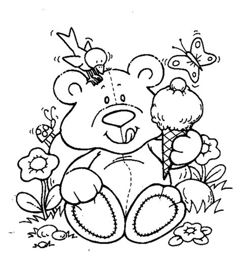cute bear coloring pages cute teddy bear coloring pages coloring home