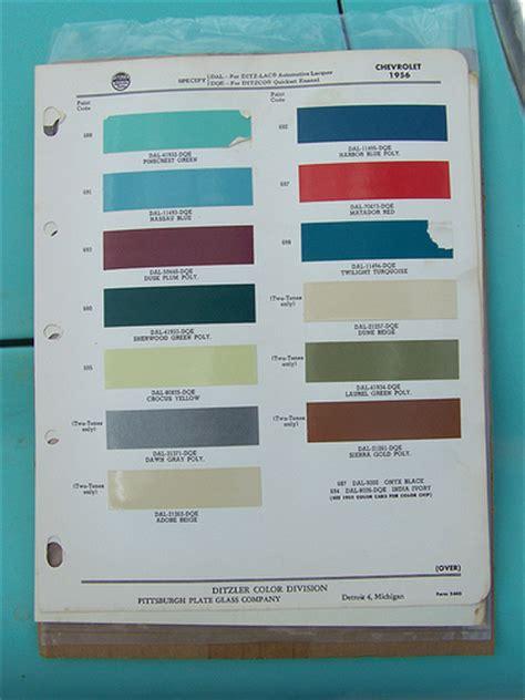 1956 chevrolet paint colors flickr photo