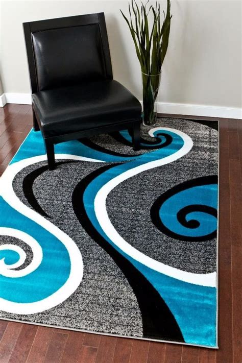 Turquoise Area Rug 5x8 Turquoise Modern Rugs 5x8 Cheap Rugs 8x11 Discount Rugs Bargain Area Rugs Contemporary