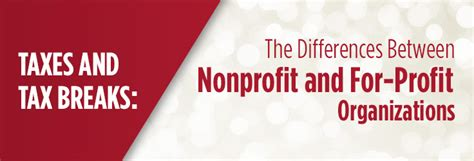 What Is The Difference Between Mba And International Mba by The Difference Between Nonprofits And For Profit Companies